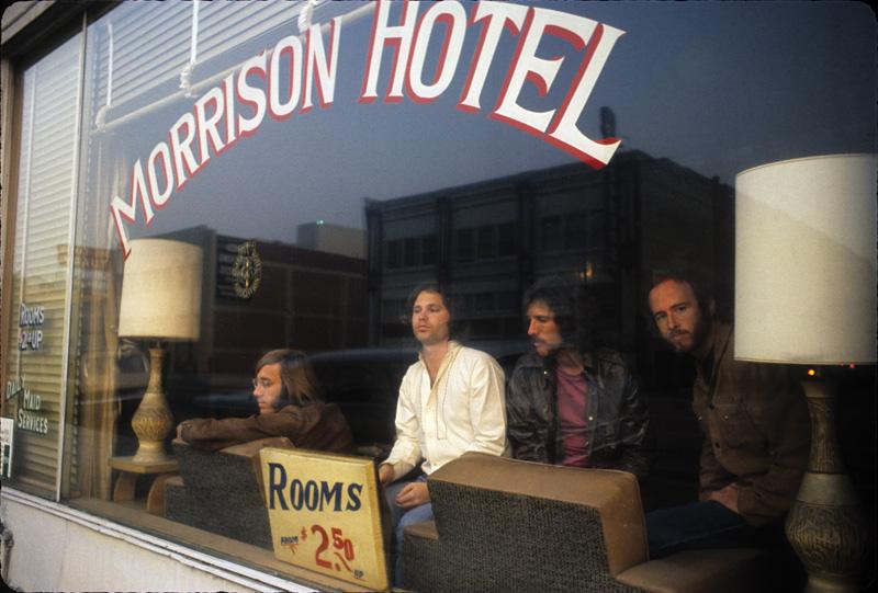 Doors, Morrison Hotel, Dec. 17, 1969.