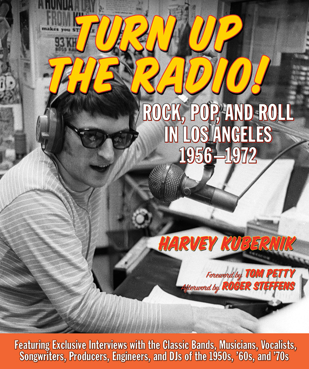 "Don Steele on the cover of ""Turn Up the Radio!"""