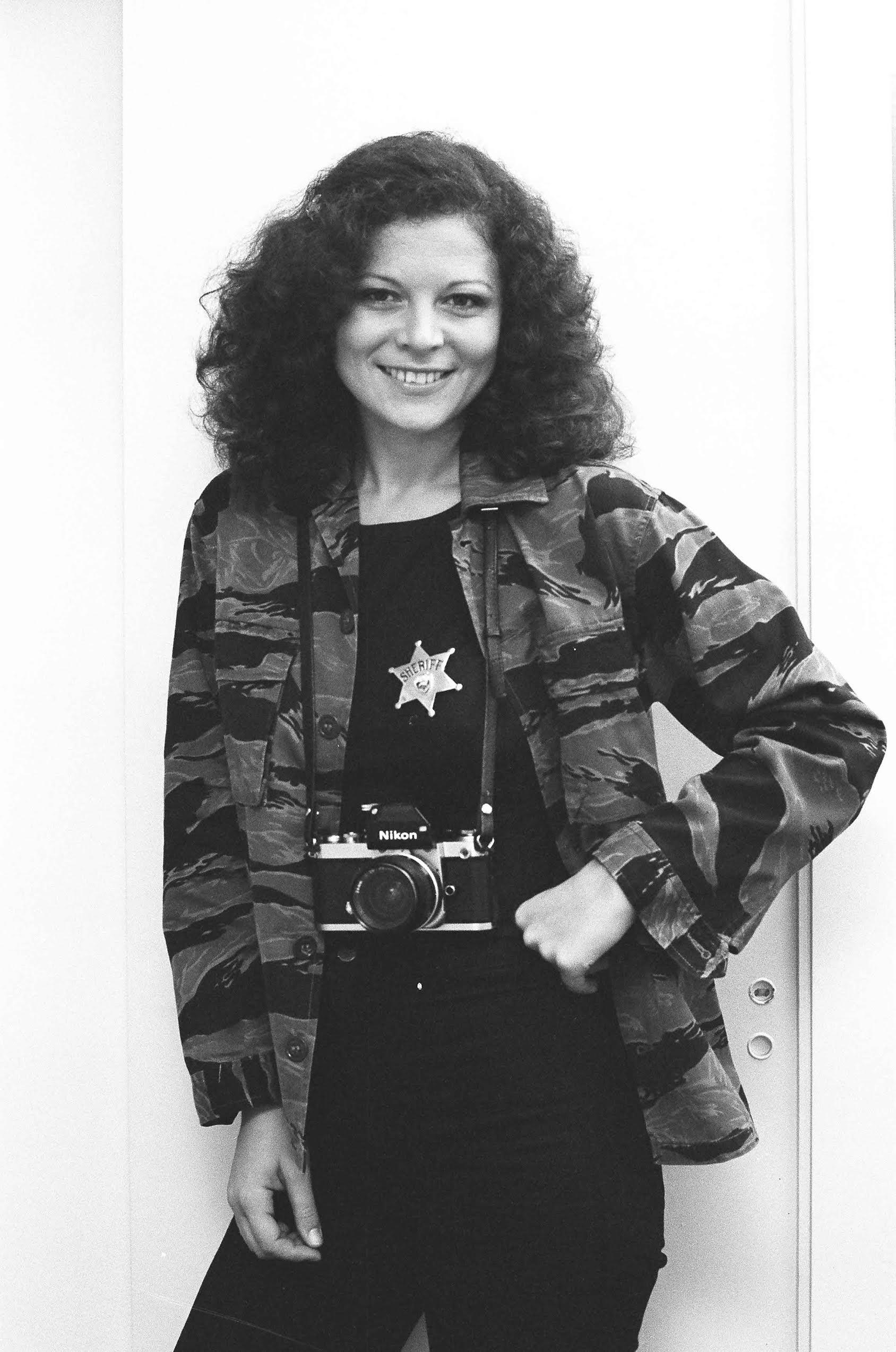 Elisa. self-portrait. August 1976