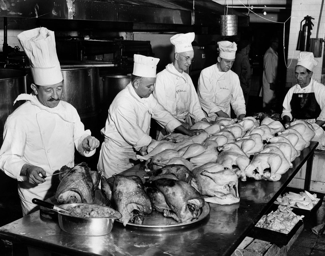 Biltmore Thanksgiving 1955