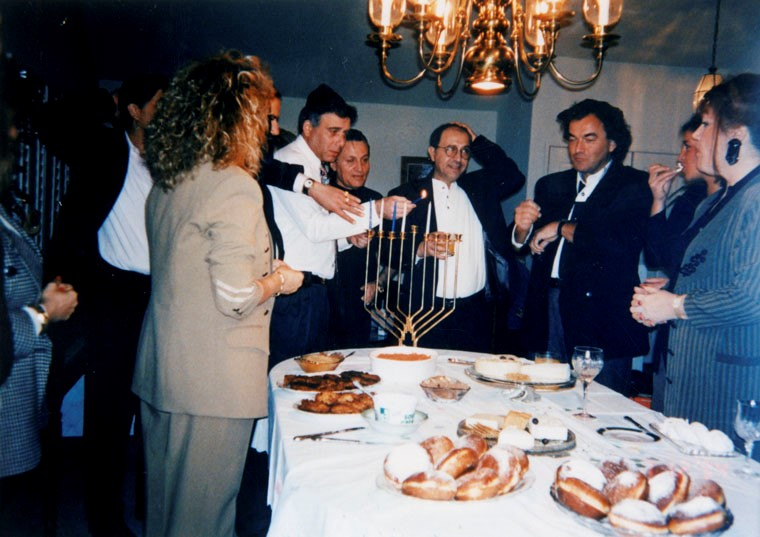 Hanukkah Party in Woodland Hills