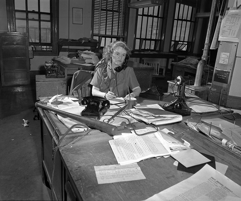 Aggie Underwood at Work