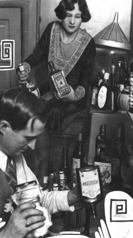 disposal of liquor during prohibition