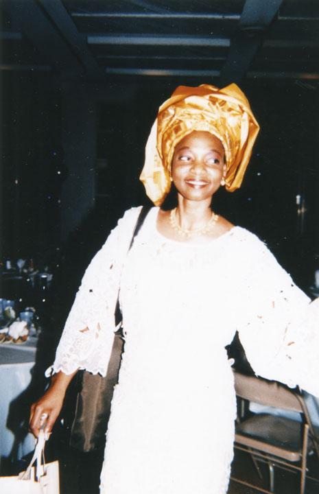 Tola Harris at Wedding