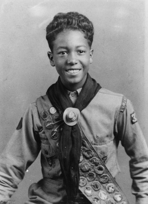 Boy Scout and badges