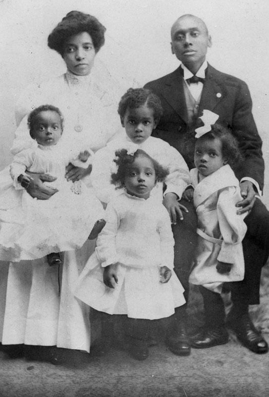 Amanda, Joseph, and children