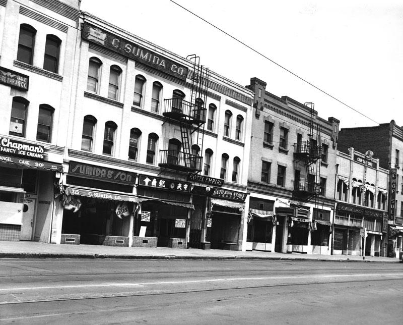 Deserted 1st Street