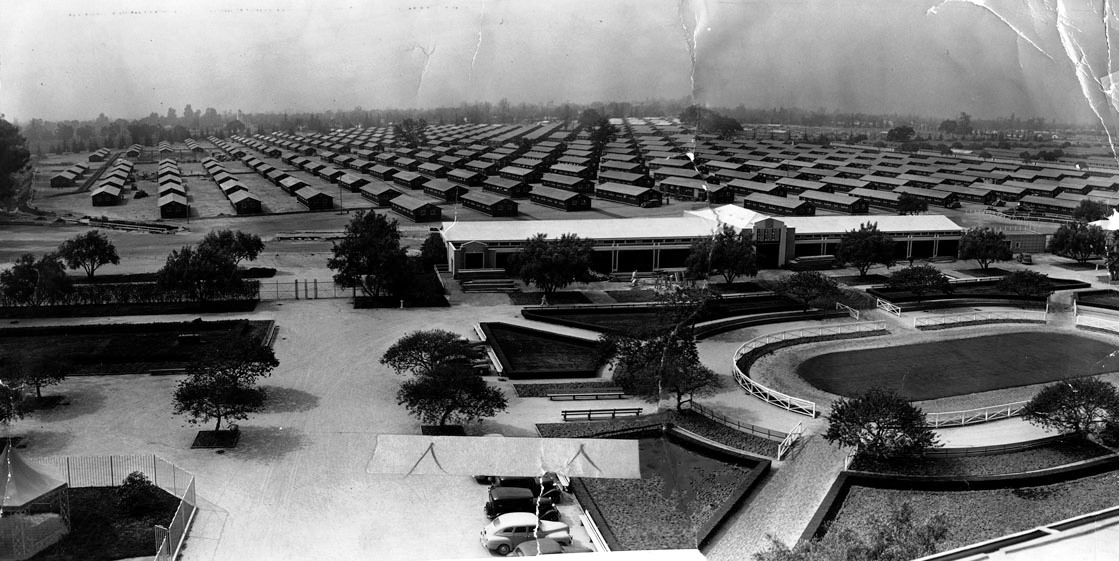 Japanese camp at Santa Anita