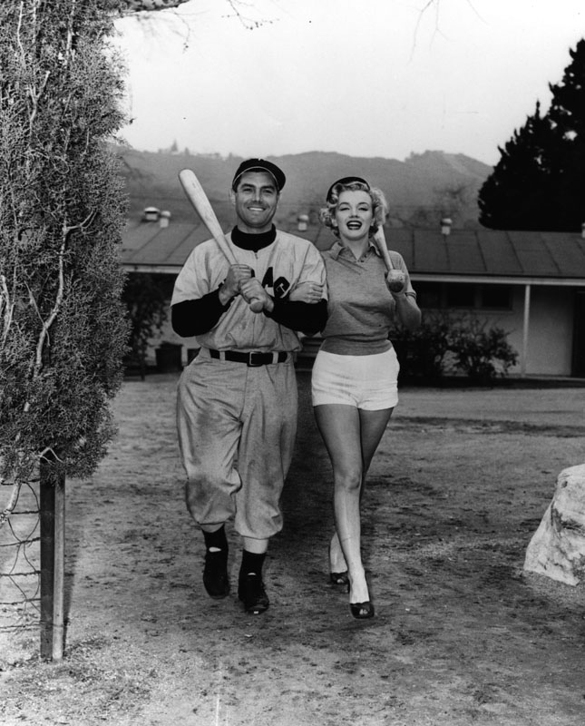marilyn monroe at spring training on catalina island