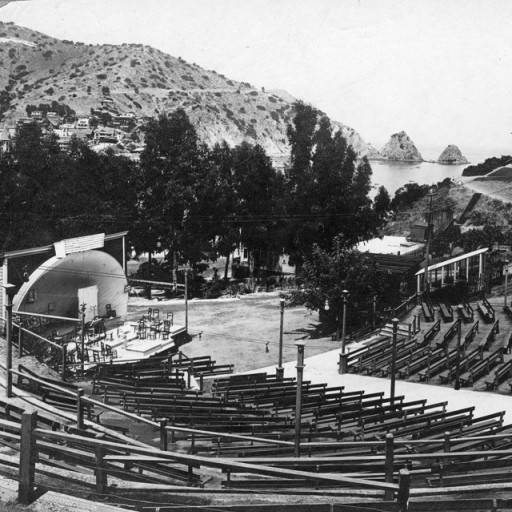 open-air theater on catalina island