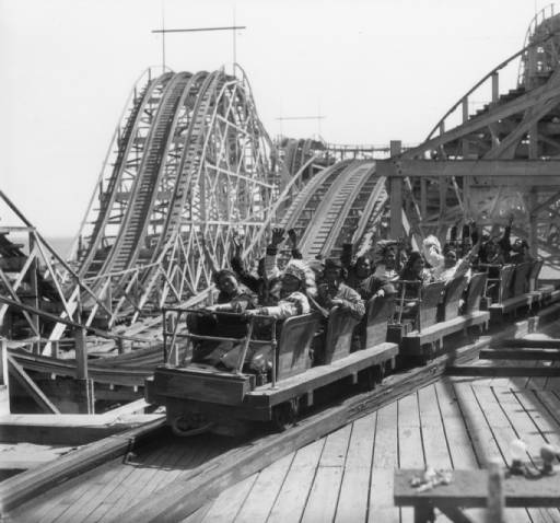 native americans on roller coaster