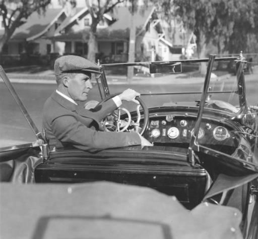 william desmond taylor in automobile