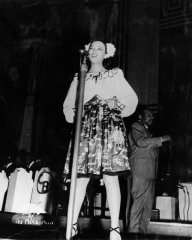 dorothy dandridge and count basie orchestra