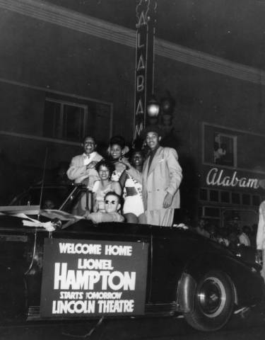 lionel hampton at club alabam