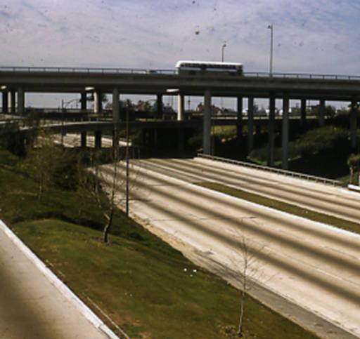 los angeles freeway interchange