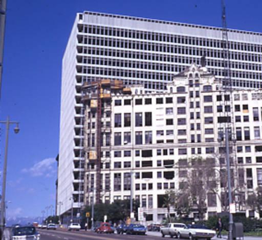 Los Angeles Hall of Records Demolition