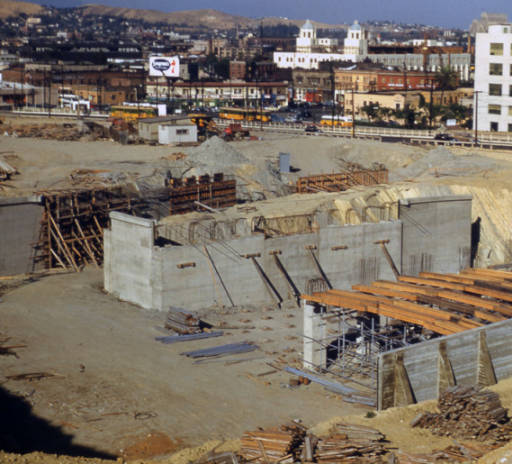 santa ana freeway construction