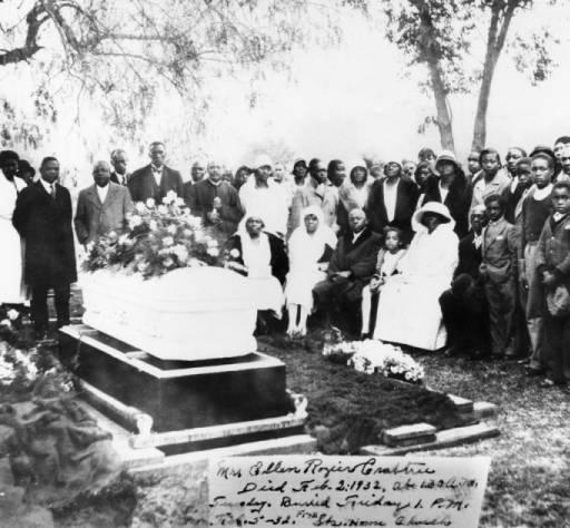 african american graveside funeral